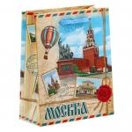 Пакет бумажный малый «Москва»
