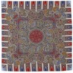 Павловопосадский платок «День рождения» (Арт. 789-4)