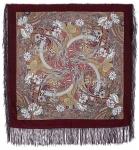 Павловопосадский платок «Жемчужный берег» (Арт. 853-57)