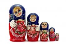 Матрешка Алёнушка 5 мест (Арт. MA-5)