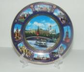 Тарелка - подарочная - Москва (Арт. TМM-4)