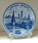 Тарелка - подарочная - Москва (Арт. TMS-8)