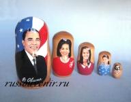 Матрешка «Барак Обама» (Арт.MP-2)