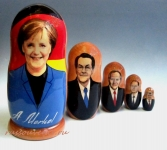 Матрешка «Ангела Меркель» (Арт. MP-1)
