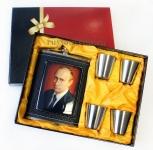 Подарочный набор «Путин» (фляжка+стопки)