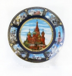 Тарелка - подарочная - Москва (Арт. TM-04)