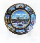 Тарелка - подарочная - Москва (Арт. TM-02)