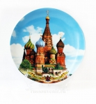 Тарелка - подарочная - Москва (Арт. TMS-4)