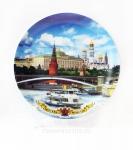 Тарелка - подарочная - Москва (Арт. TMS-3)