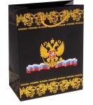 """Пакет подарочный """"Россия"""" (тиснение)"""