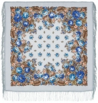 Павловопосадский платок «Южанка» (Арт. 1387-1)