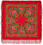 Павловопосадский платок «Матрешка» (Арт. 190-5)