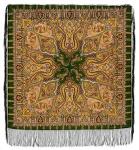 Павловопосадский платок «Шафран» (Арт. 1155-10)