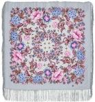 Павловопосадский платок «Цветомания» (Арт. 1439-1)