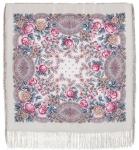 Павловопосадский платок «Кумушка» (Арт. 1453-1)