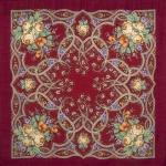 Павловопосадский платок «Марья-искусница» (Арт. 1606-5)